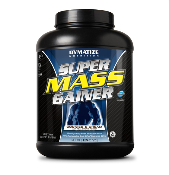 SUPER MASS GAINER 6LB- SABOR:CHOCOLATE