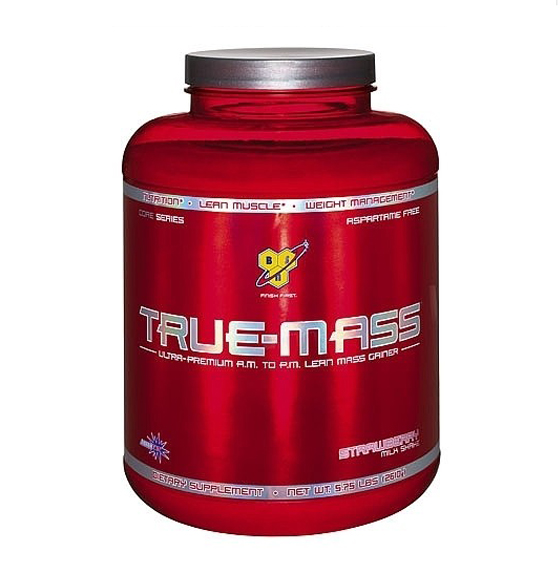TRUE MASS WEIGTH GAINER 5,75 LB- SABOR:CHOCOLATE